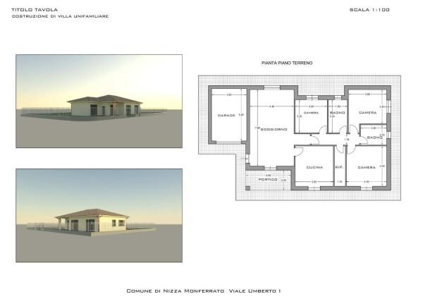 Villa in vendita a Nizza Monferrato, 4 locali, prezzo € 280.000 | Cambio Casa.it