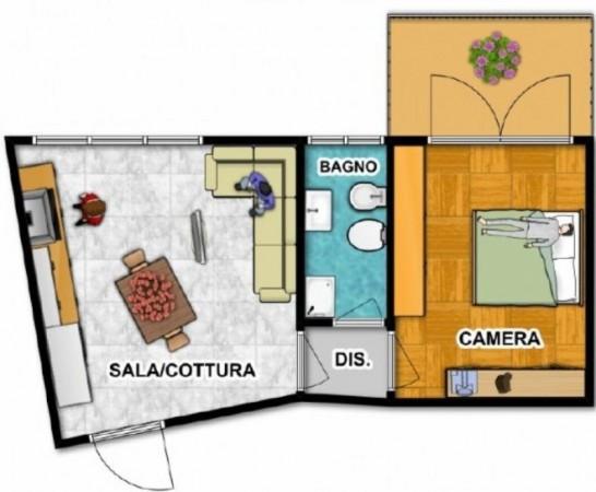 Bilocale Vittuone Via Eugenio Villoresi 5