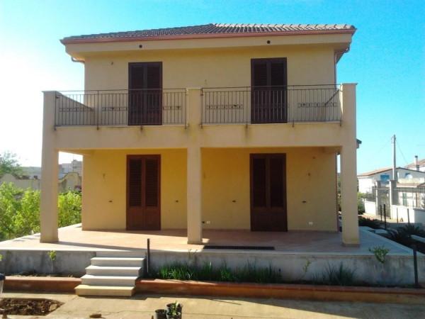 Villa in Vendita a Carini Centro: 5 locali, 230 mq