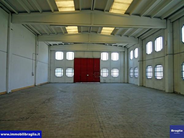 Capannone in Affitto a Reggio Emilia Periferia Nord: 2 locali, 450 mq
