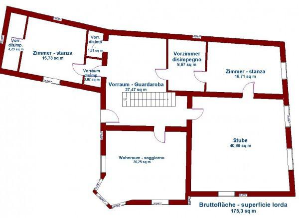 Appartamento in vendita a Salorno, 6 locali, Trattative riservate | Cambio Casa.it