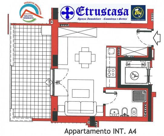 Appartamento in vendita a Tarquinia, 2 locali, prezzo € 73.293 | Cambio Casa.it