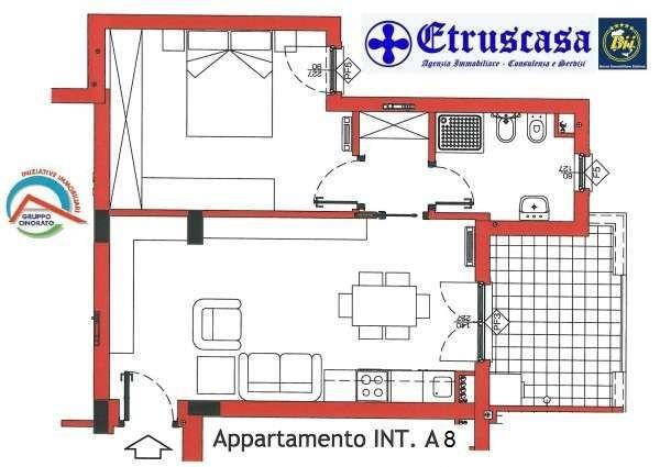 Bilocale Tarquinia Vicolo Delle Pietrare 4