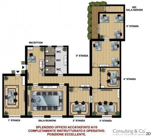 Ufficio / Studio in vendita a Roma, 6 locali, zona Zona: 7 . Esquilino - San Lorenzo, prezzo € 950.000 | Cambiocasa.it