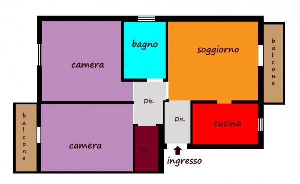 Appartamento in vendita a Carugate, 3 locali, prezzo € 145.000 | Cambiocasa.it