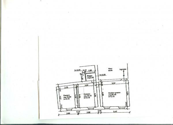 Appartamento in Vendita a Vicopisano Centro: 3 locali, 60 mq