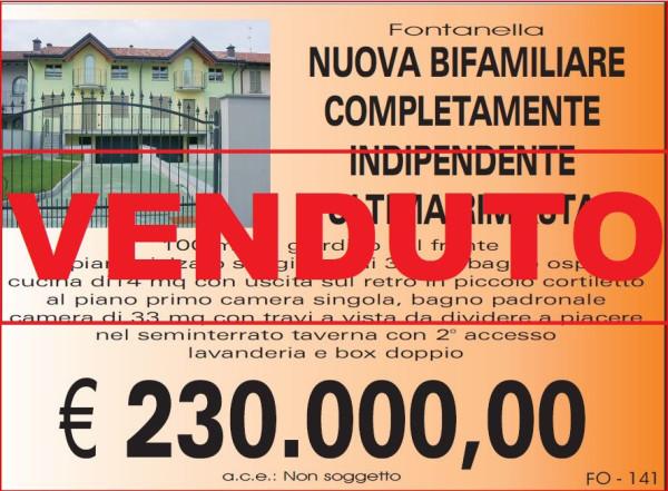 Villa-Villetta Villa in Vendita a Fontanella