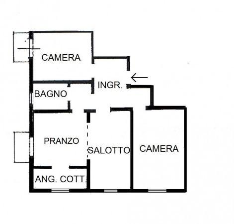 Bilocale Venezia Via Guido Negri 1