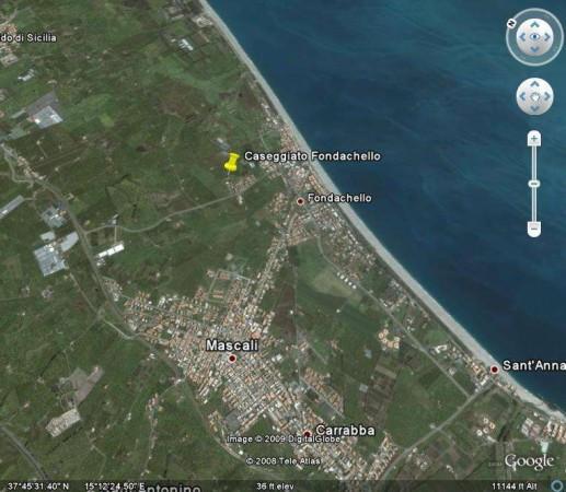 Terreno Edificabile Residenziale in vendita a Mascali, 9999 locali, prezzo € 800.000 | Cambio Casa.it