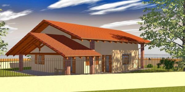 Villa in Vendita a Favria Centro: 5 locali, 120 mq