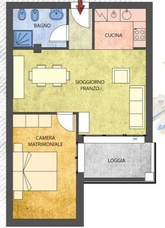 Bilocale Pisa Via Vincenzo Gioberti 1