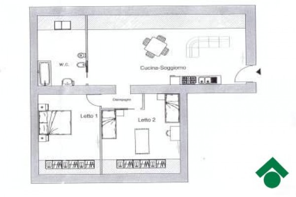 Bilocale Napoli Corso Garibaldi B, 131 8