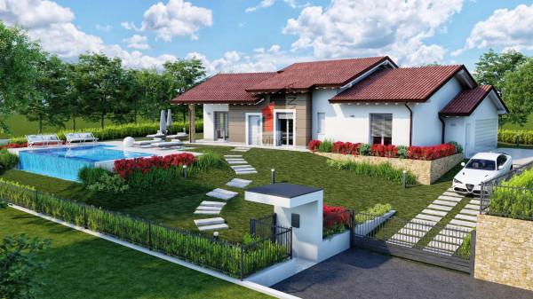 Villa in vendita a Robbiate, 4 locali, prezzo € 450.000 | Cambio Casa.it