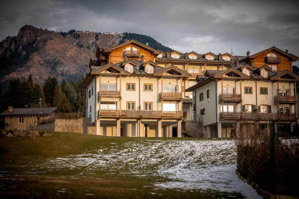 Bilocale Castione della Presolana Via San F. Cabrini 12
