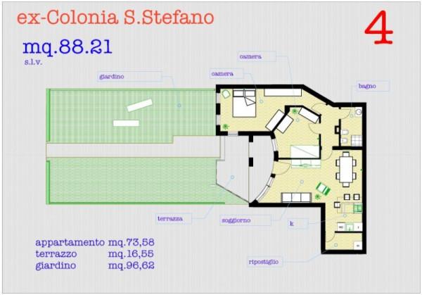 Bilocale Pisa Via Monsignore Aiazzi Calambrone 11