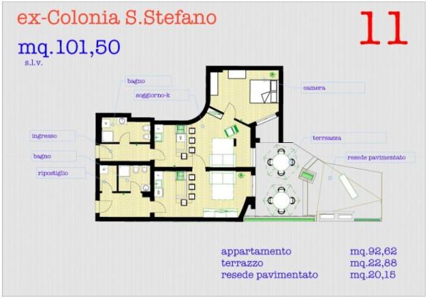 Bilocale Pisa Via Monsignore Aiazzi Calambrone 13