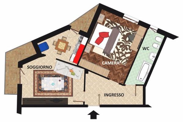 Bilocale Cuorgnè Via Giuseppe Verdi 11
