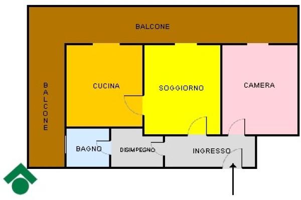 Bilocale Napoli Via Ettore Bellini 5