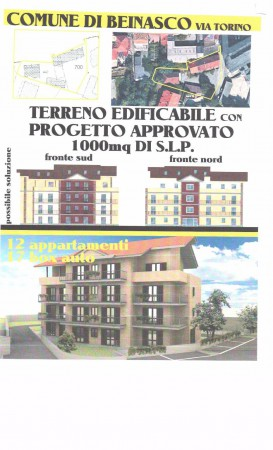 Terreno Edificabile Residenziale in Vendita a Beinasco