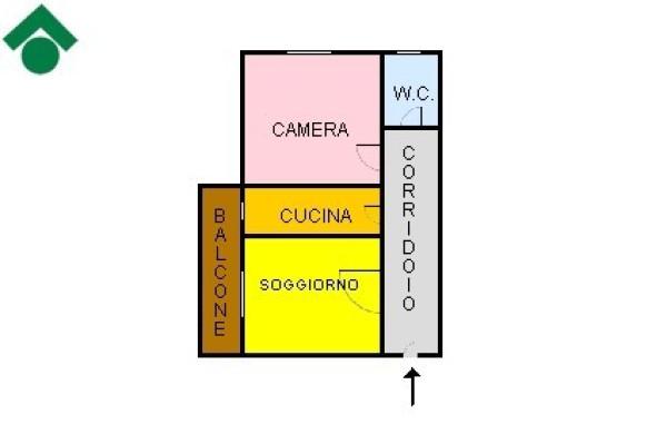 Bilocale Pavia Viale Cremona 12