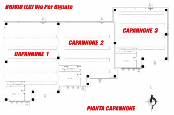Capannone in vendita a Brivio, 1 locali, prezzo € 277.000 | Cambio Casa.it