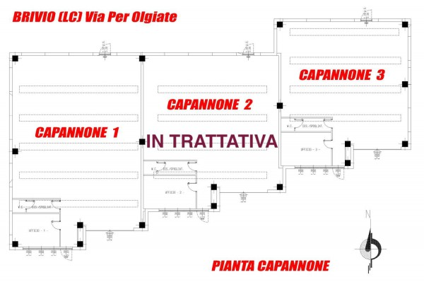 Capannone in vendita a Brivio, 1 locali, prezzo € 229.000 | Cambio Casa.it