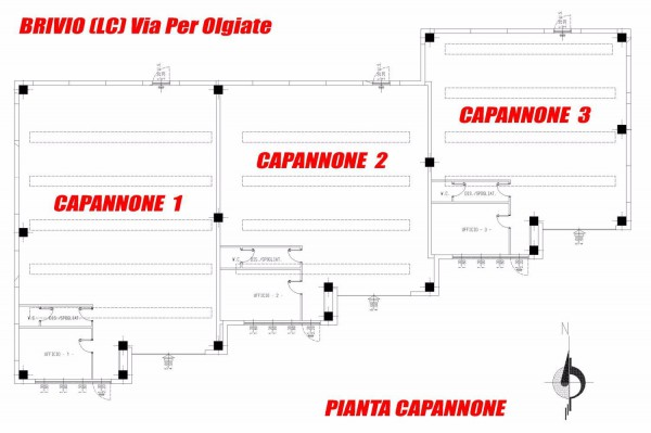 Capannone in vendita a Brivio, 9999 locali, prezzo € 205.000 | Cambio Casa.it