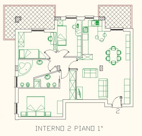 Appartamento in Vendita a Perugia Periferia: 4 locali, 100 mq