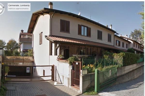 Villa a Schiera in Vendita a Cermenate
