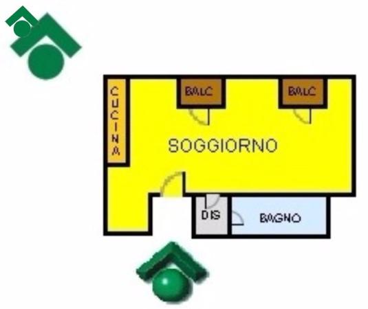 Bilocale Milano Via Belluno, 29 9