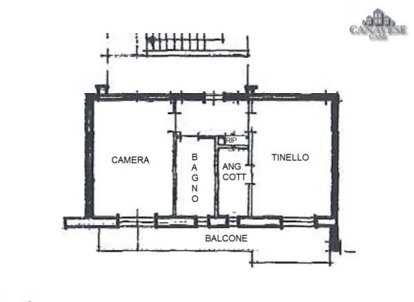 Bilocale Cuorgnè Via Piero Gobetti 11