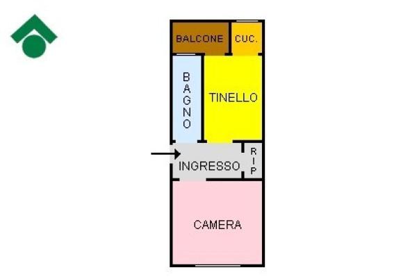 Bilocale Torino Via Giovenale Ancina, 39 13