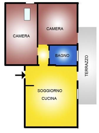 Bilocale Gazzo Piazza Iv Novembre 13
