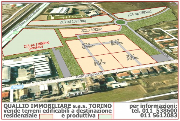 Terreno Edificabile Residenziale in vendita a Novara, 9999 locali, Trattative riservate | Cambio Casa.it