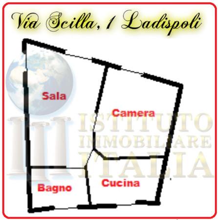 Bilocale Ladispoli Via Scilla 2