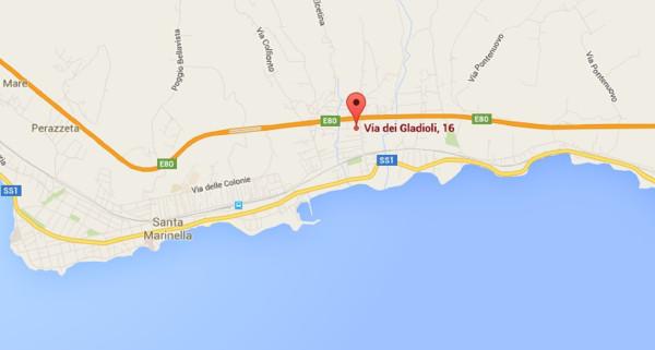 Bilocale Santa Marinella Via Dei Gladioli 10