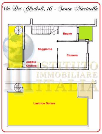 Bilocale Santa Marinella Via Dei Gladioli 2