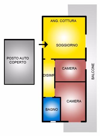 Appartamento in vendita a Cerveteri, 3 locali, prezzo € 85.000 | Cambio Casa.it