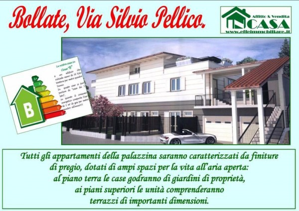 Bilocale Bollate Via Silvio Pellico 3