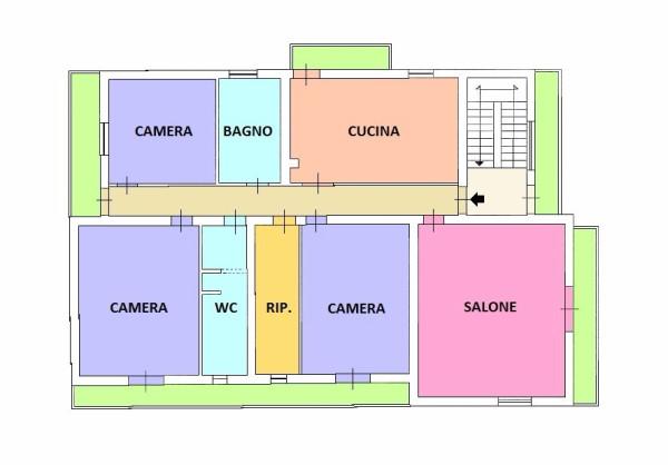 Appartamento in vendita a Rometta, 6 locali, prezzo € 178.000 | Cambio Casa.it