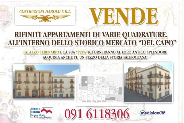 Bilocale Palermo Piazza Capo 13