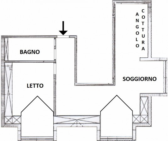 Bilocale Riva Ligure Vico San Maurizio 2