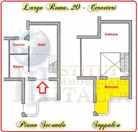 Bilocale Cerveteri Largo Roma 2