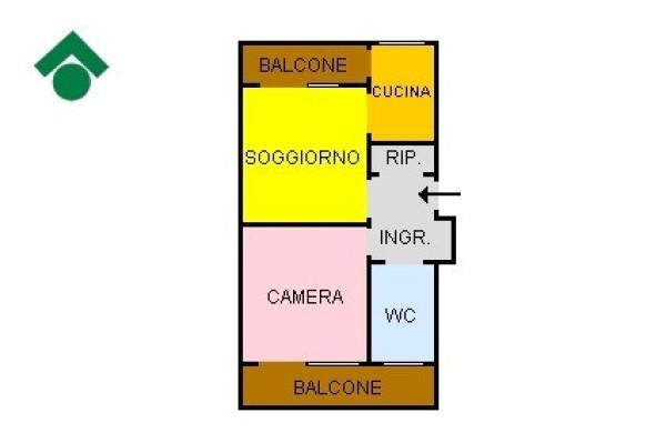 Bilocale Torino Via Francesco Cilea 13