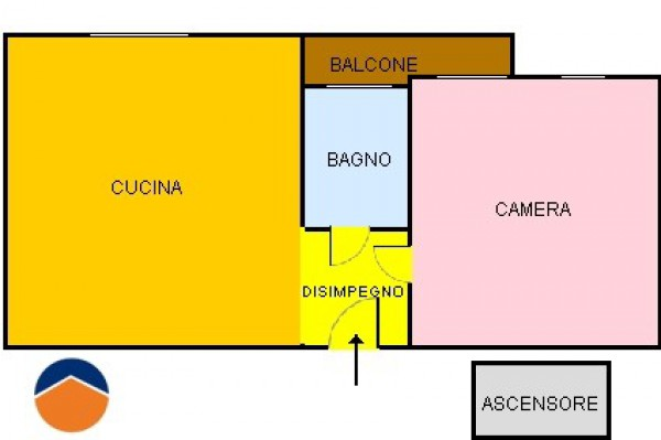 Bilocale Torino Via Assisi, 15 10