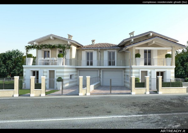 Villa in vendita a Ghedi, 5 locali, prezzo € 240.000 | Cambio Casa.it