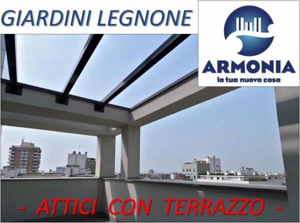 Bilocale Milano Via Legnone 1