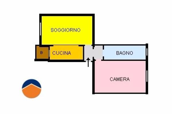 Bilocale Torino Via Giacomo Dina, 38 11
