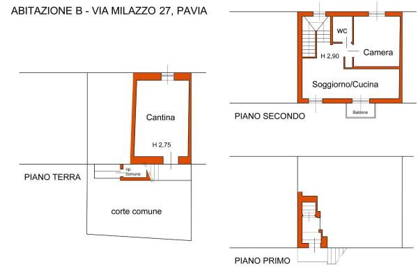 Bilocale Pavia Via Milazzo 1
