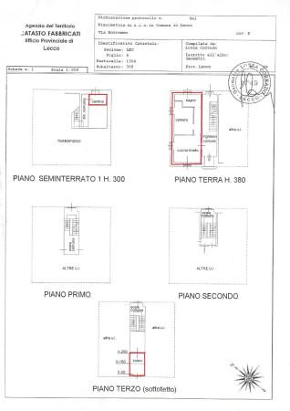 Bilocale Lecco Via Federico Borromeo 6